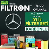 Mercedes C180 Komp. Filtron Filtre Bakım Seti W203 2003-2007 UP1319499 FILTRON