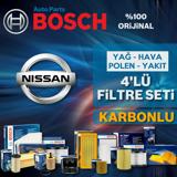 Nissan Qashqai 1.6 Dci Bosch Karbonlu Filtre Bakım Seti 2014-2017 UP561020 BOSCH
