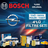 Opel Meriva A 1.6 Bosch Filtre Bakım Seti 2003-2006 UP1312933 BOSCH