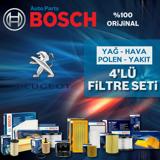 Peugeot 206 1.6 Bosch Filtre Bakım Seti 1998-2007 UP1312954 BOSCH