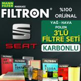 Seat İbiza 1.2 Tsi Filtron Filtre Bakım Seti 2011-2014 UP1319634 FILTRON