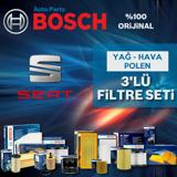 Seat İbiza 1.6 Tdi Bosch Filtre Bakım Seti 2009-2014 UP1312885 BOSCH