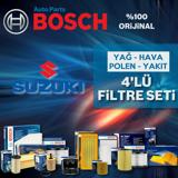 Suzuki Grand Vitara 1.9 Ddis Bosch Filtre Bakım Seti 2005-2010 UP1539928 BOSCH