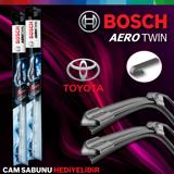 Toyota Yaris Ön Arka Silecek Takımı 2006-2010 Bosch Aerotwin-rear UP1539393 BOSCH