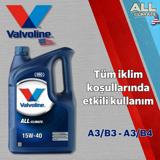 Valvoline All Climate 15w40 A3/b4 Sentetik Motor Yağı 4 Litre UP1534967 VALVOLINE
