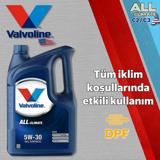Valvoline All Climate C2/c3 5w30 Dpfli Partiküllü Tam Sentetik Motor Yağı 1 Litre UP1534962 VALVOLINE