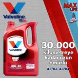 Valvoline Maxlife A3/b4 10w40 Tam Sentetik Motor Yağı 1 Litre UP1534955 VALVOLINE