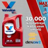 Valvoline Maxlife C3 5w30 Partiküllü Tam Sentetik Motor Yağı 4 Litre UP1531339 VALVOLINE