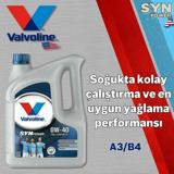 Valvoline Synpower A3/b4 0w40 Tam Sentetik Motor Yağı 4 Litre UP1534963 GÜNEŞ