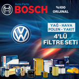 Vw Golf 4 1.6 16v Bosch Filtre Bakım Seti 2000-2006 UP1312807 BOSCH