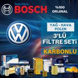 Vw Golf 5 1.4 Tsi Bosch Filtre Bakım Seti 2006-2009 Bmy UP583208 BOSCH