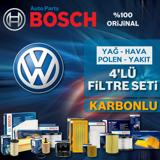 Vw Golf 5 1.4 Tsi Bosch Filtre Bakım Seti 2006-2009 Cax UP1312811 BOSCH