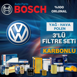 Vw Golf 5 1.4 Tsi Bosch Filtre Bakım Seti 2006-2009 Cax UP583209 BOSCH