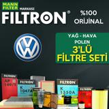 Vw Scirocco 1.4 Tsi Filtron Filtre Bakım Seti 2009-2014 Cav UP1319454 FILTRON